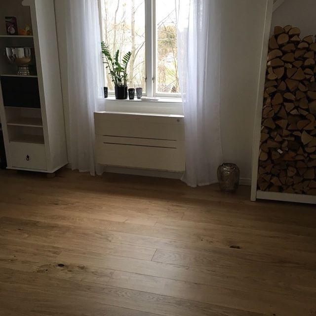 Daikin Nexura golvmodell installerad i Åda