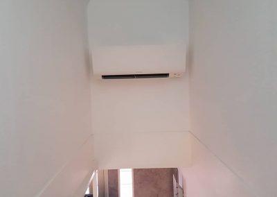 Installation av Daikin Multi med 2 st Caldo R25 innedelar i Bålsta
