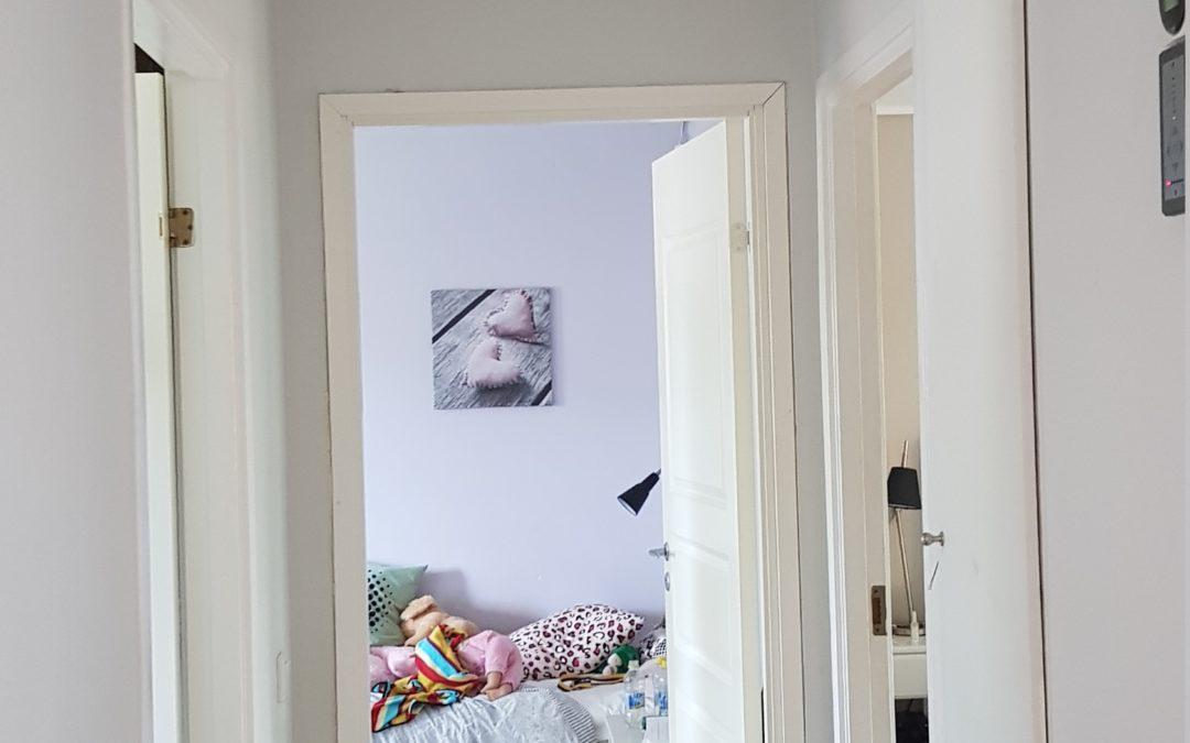 Installation av Daikin takkassett i en villa i vällingby.